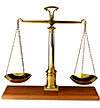 Elmwood park attorney with scales of justice